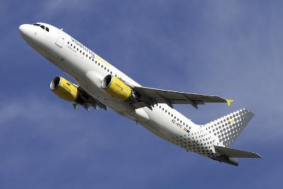 Airbus A320 of Vueling Airlines--Photographic Print