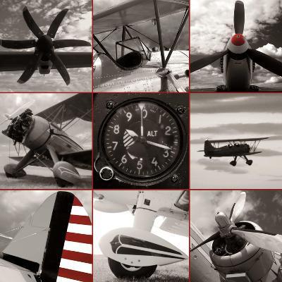 Aircraft Montage-Matt McCarthy-Art Print