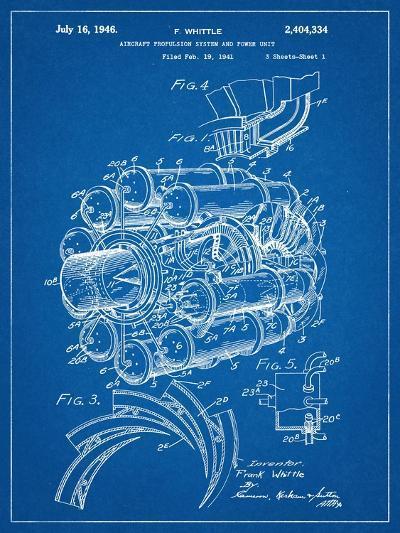 Aircraft Rocket Patent--Art Print