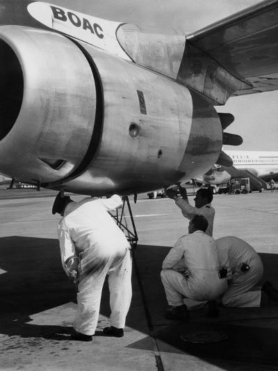 Aircraft Safety Check--Photographic Print