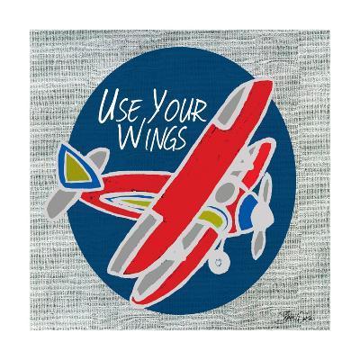 Airplane One-Shanni Welsh-Art Print