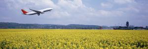 Airplane Taking Off, Zurich Airport, Kloten, Zurich, Switzerland