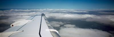 Airplane Wing--Photographic Print