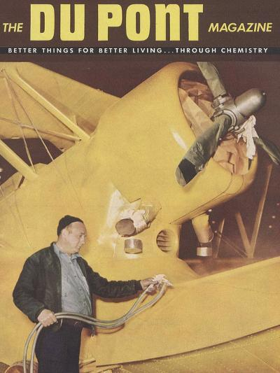 Airplanes, Front Cover of 'The Du Pont Magazine', 1945--Giclee Print