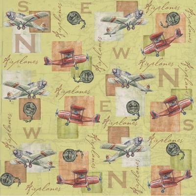 Airplanes-Maria Trad-Giclee Print