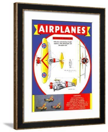 Airplanes-John T. McCoy Jr.-Framed Art Print