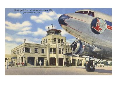 Airport, Jacksonville, Florida--Art Print