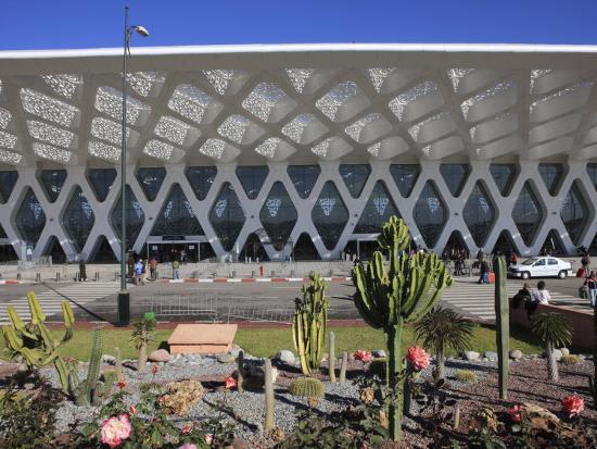 Airport, Marrakech, Morocco, North Africa, Africa-Vincenzo Lombardo-Photographic Print