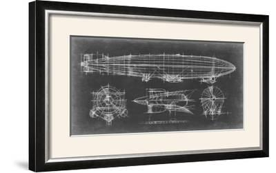Airship Blueprint-Ethan Harper-Framed Photographic Print