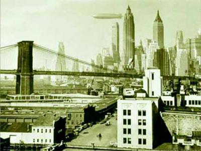 Airship N.Y.C., 1938--Art Print