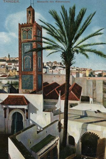 Aissawa Mosque, Tangier--Photographic Print
