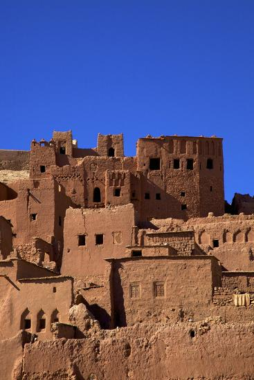 Ait-Benhaddou Kasbah, UNESCO World Heritage Site, Morocco, North Africa, Africa-Neil Farrin-Photographic Print