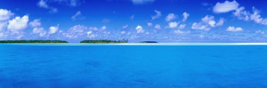 Aitutaki Lagoon-Holger Leue-Photographic Print