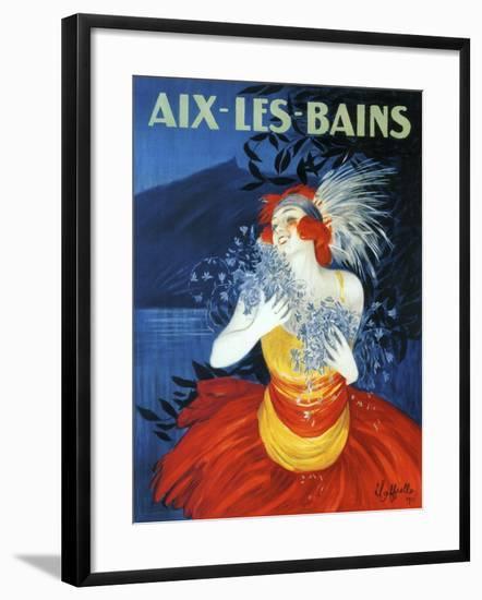 Aix Les Bains--Framed Giclee Print