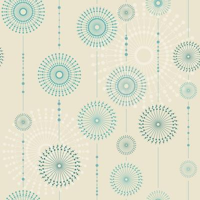 Beautiful Snowflakes. Abstract Seamless Background with Trendy Elements.Vector Pattern for Web-Desi