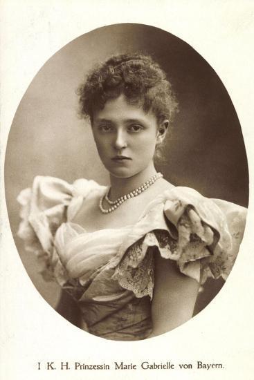 Ak I.K.H. Prinzessin Rupprecht Von Bayern Wittelsbach, Marie Gabrielle--Photographic Print