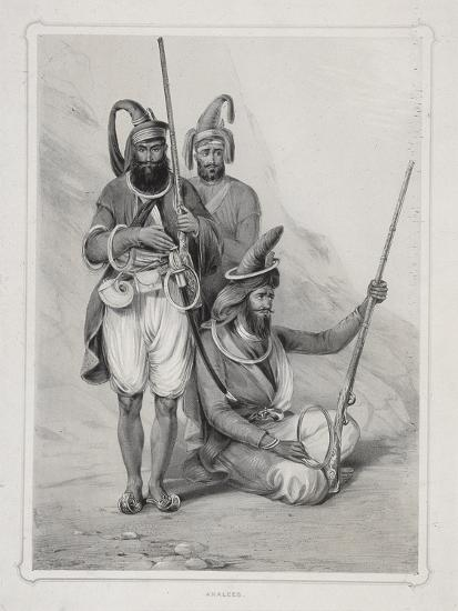 Akalees, (Indian Warrior), 1844 Giclee Print by Lowes Dickinson | Art com