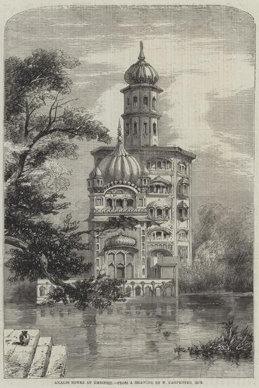 Akalis Tower at Umritzir-William Carpenter-Giclee Print