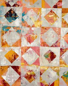 Triangular Configurations 2 by Akiko Hiromoto