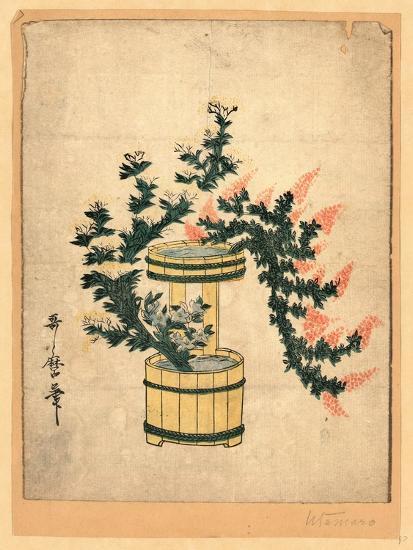 Akikusa No Rikka-Kitagawa II Utamaro-Giclee Print