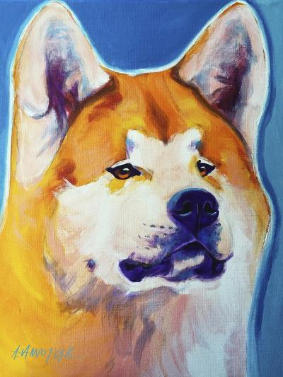 Akita - Apricot-Dawgart-Giclee Print