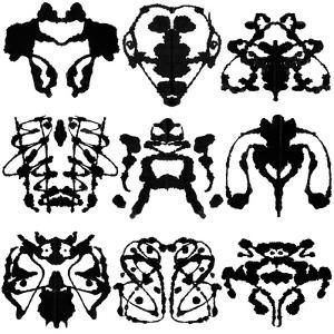 Nine Rorschach Test by akova