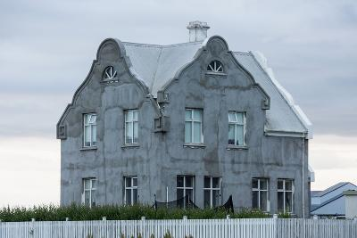 Akranes, House at the Harbour-Catharina Lux-Photographic Print