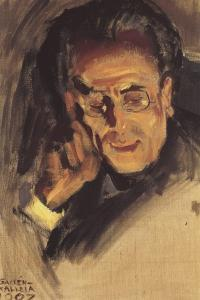 Portrait of Gustav Mahler, 1907 by Akseli Gallen-Kallela