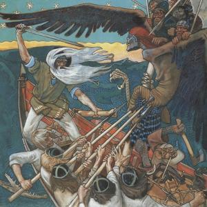 The Defense of the Sampo, 1896 by Akseli Gallen-Kallela