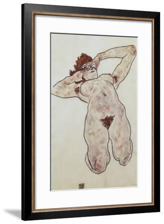 Akt-Egon Schiele-Framed Giclee Print