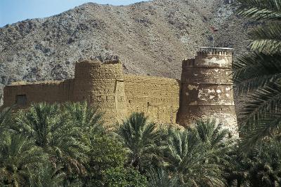 Al Bithnah Fort, 1735, Near Fujairah, United Arab Emirates--Photographic Print