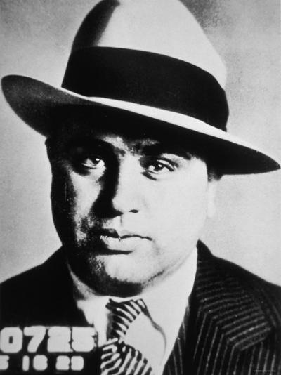 Al Capone, 1929--Photographic Print