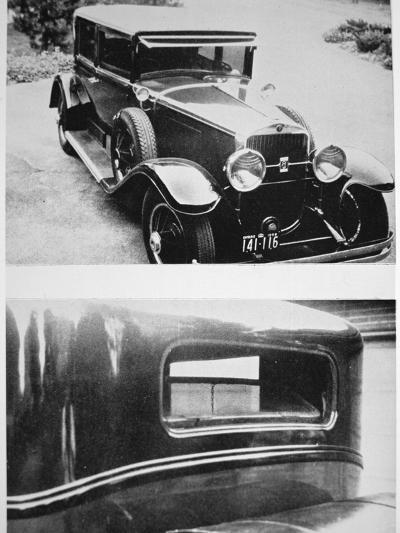 Al Capone's (1899-1947) Armoured Cadillac--Photographic Print