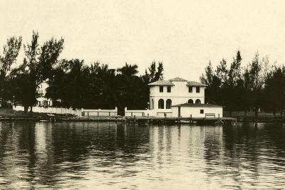 Al Capone''s Home on Palm Island, Miami Beach, C.1928--Photographic Print