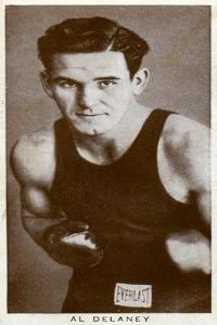 Al Delaney, Canadian Boxer, 1938