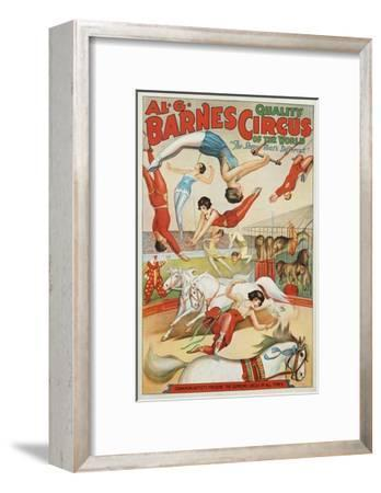 Al G. Barnes Circus - Quality Circus of the World Poster