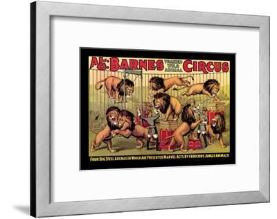 Al G. Barnes Trained Wild Animal Circus