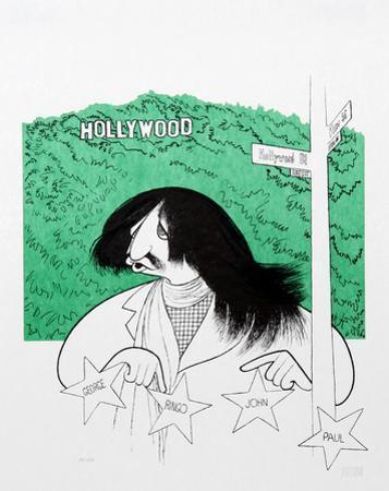 Ringo Starr Visits Hollywood