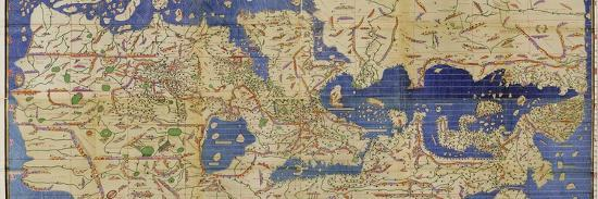 Al-Idrisi's World Map, 1154 Stretched Canvas Print by Library of Congress |  Art com