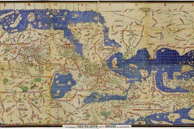 Al-Idrisi's World Map, 1154-Library of Congress-Photographic Print