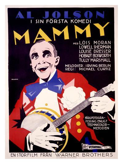 Al Jolson, Mammy-Erik Rohman-Giclee Print
