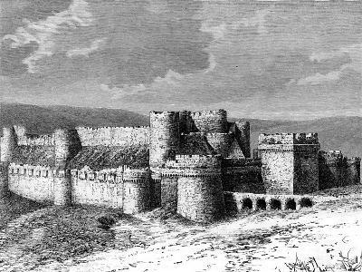 Al Karak Castle, 19th Century--Giclee Print