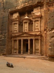 Al Khazneh or Treasury at Petra, Jordan
