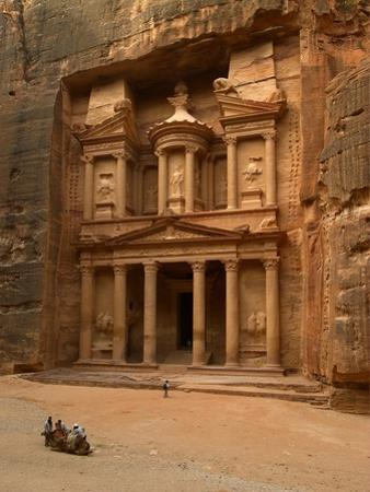 Al Khazneh or Treasury at Petra, Jordan