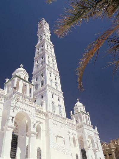 Al Mindhar Mosque, Tarim, Yemen, Middle East-Doug Traverso-Photographic Print