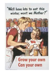 Grow Your Own Can Your Own by Al Parker