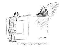 """Folks, I endorse Scrunchies because I eat Scrunchies. As God is my witnes…"" - New Yorker Cartoon-Al Ross-Premium Giclee Print"