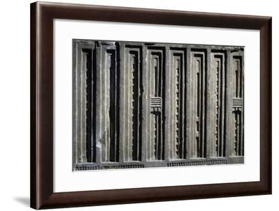 Alabaster Decorative Relief on Palace Facade--Framed Giclee Print