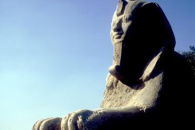 Alabaster Sphinx, Memphis, Egypt, 18th or 19th Dynasty, C14th-13th Century Bc-CM Dixon-Photographic Print