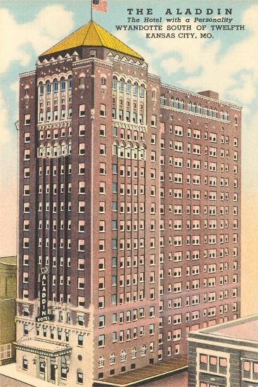 Aladdin Hotel, Kansas City--Art Print
